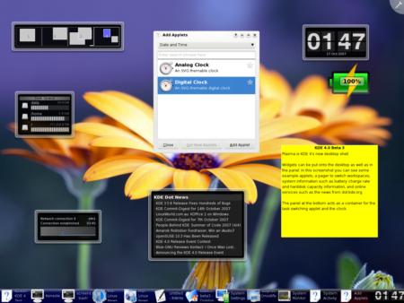 Κυκλοφορεί η τρίτη beta του KDE 4