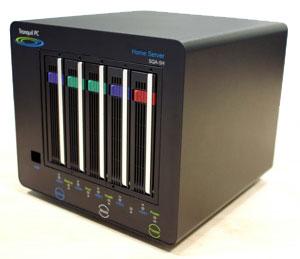 Tranquil PC SQA-5H home server