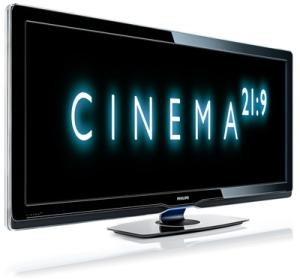 Η Philips παρουσιάζει ultra wide οθόνη τηλεόρασης 21:9