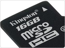 Η Kingston Digital λανσάρει τη νέα MicroSDHC Card στα 16GB