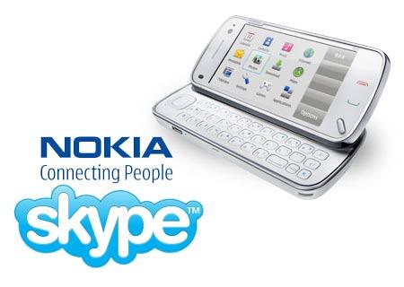 Το Skype σε κινητά τηλέφωνα της Nokia