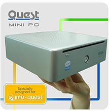 Quest Mini PC: O ιδανικός υπολογιστής για κάθε γραφείο από την Info-Quest