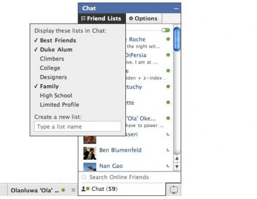 Το Facebook ανανεώνει το Chat του