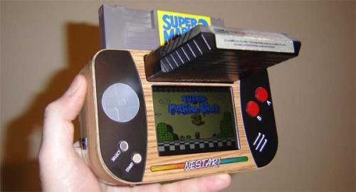 Φορητή συσκευή συνδυάζει NES και Atari