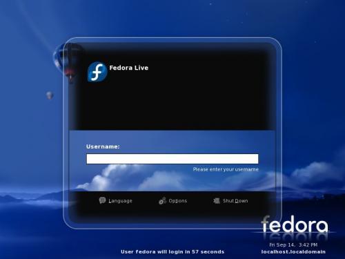 Κυκλοφόρησε η test 3 έκδοση του Fedora 8