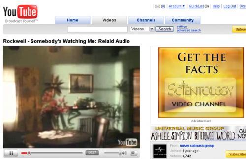 Το Youtube αφαιρεί 4000 video κατά της Σαϊεντολογίας