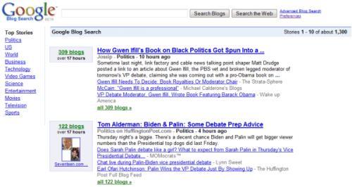 Ανανέωση του Google Blog Search