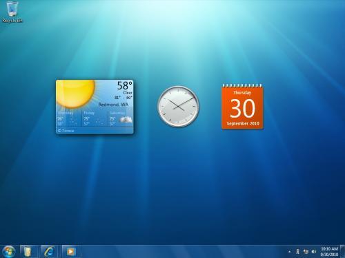 Η Microsoft παρουσίασε τα Windows 7