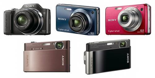 8 νέα μοντέλα Cyber-shot της Sony