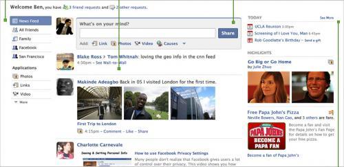Σημαντικές αλλαγές στην εμφάνιση του Facebook