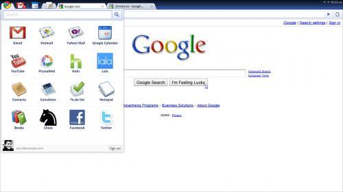 Πρώτη παρουσίαση του Chrome OS από την Google