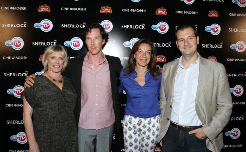 Το Sherlock στο ΟΤΕ TV - Και ο Benedict Cumberbatch στην Ελλάδα